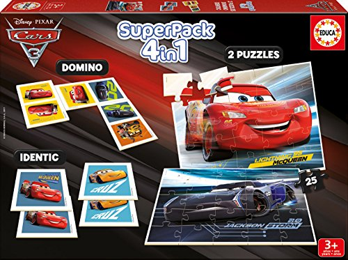 Cars Superpack (Educa Borrás 17199)
