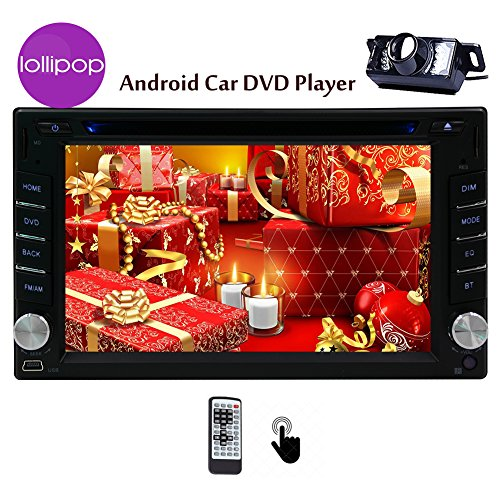 Vista notturna di HD telecamera posteriore Android 5.1 Operation System 2 DIN 6.2 pollici Car (108 Chiave Usb)