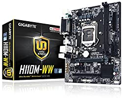 Gigabyte GA-H110M-WW Ultra Durable Motherboard ( Socket - LGA 1151, DDR4, USB 3.0, Intel 6th Generation )