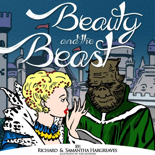 Beauty And The Beast - Coloring Book pdf Inside! (Famous Classic Fairy Tales With Printable Coloring Pages For Kids 2) (English Edition)
