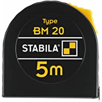 Stabila BM 20 16446 - Metro a nastro, 5 m