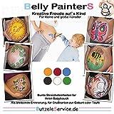 BellyPainterS - BellyPainting - Bauchbemalungs-Set, Bemalen Sie Ihren Babybauch