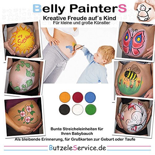 Belly Painting - Bauchbemalungs-Set - 19,99 €