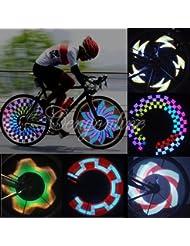 FamilyMall Eclairage 32 LED pour roues de vélo