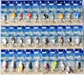20 x Assorted Metal Fishing Lures / Spoons - . Ideal For Canal , River , Pool Or Sea Fishing - Now With A FREE 12 Month Guarantee ! from Cyber Sales