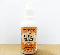 CraftGully's The Perfect Glaze for Quilling, Card Making, Scrapbooking, Mixed Media Projects, Etc. (30ml)