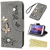 S5 i9600 Tasche Grau Mavis's Diary Handyhülle für Samsung Galaxy