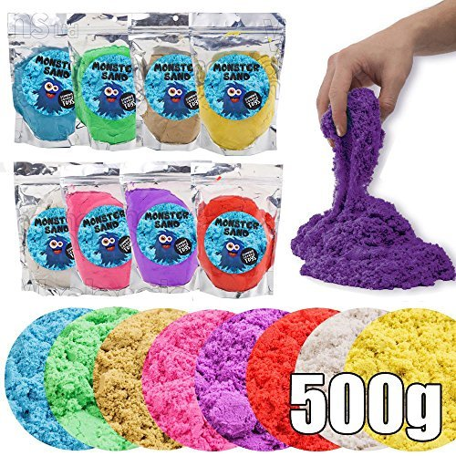 wholesale-solutions-ltd-magie-cinetique-en-couleur-play-sable-paquet-jaune-500g
