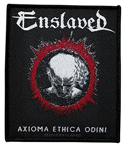 Enslaved toppa Axioma ethica odini Patch in tessuto 8,5x 10cm