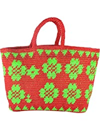 Craftter Bee Multi Purpose Bag - Crosso Bag - Grocery Bag - Hand Made (Multi Color) - Assorted Colors And Patterns... - B07CG7MDW7