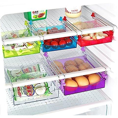 cyale (TM) frigorifero Ciak Mensola multiuso ricevere porta spazio con