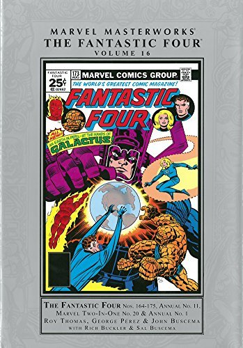 Marvel Masterworks: The Fantastic Four Volume 16 by Bill Mantlo (23-Sep-2014) Hardcover