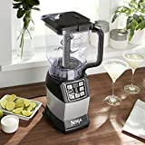 from Ninja Nutri Ninja 1200W Blender Duo with Auto iQ BL492UK inc 2.1L Pitcher & 2 x Tritan Cups Model BL492UK
