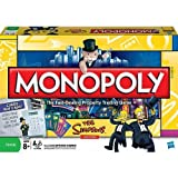 Monopoly The Simpsons Edition by Parker Brothers by Parker Brothers