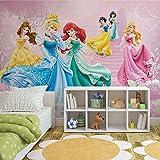 Disney Prinzessinnen Cinderelle Aurora - Wallsticker Warehouse - Fototapete - Tapete - Fotomural - Mural Wandbild - (591WM) - XXL - 312cm x 219cm - VLIES (EasyInstall) - 3 Pieces