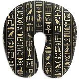 YSamuel Antico Simbolo Cuscino a Forma di U Nero Lasciati Avvolgere in Un Comfort Estremo con la Schiuma Memory Memory Comfort Master Neck