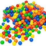 LittleTom 100 x Balles 6 cm colorées de piscine balles de jeux
