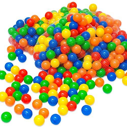 LittleTom 100 Palline colorate Ø 6 cm