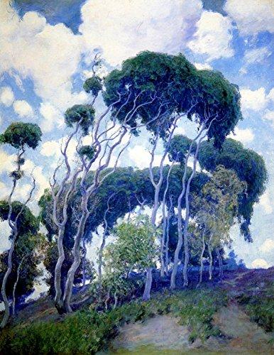 Das Museum Outlet-Laguna Eukalyptus, 1917, gespannte Leinwand Galerie verpackt. 40,6x 50,8cm - Laguna-schlafzimmer-möbel