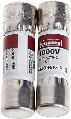 Wanfor Bussmann Dmm B 44 100 10 X 35 Mm 44 Ma 1000 Vac Dc 2 Stück Schuhe Handtaschen