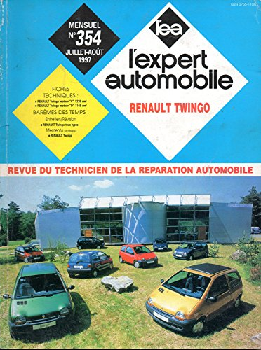 Descargar Libro REVUE TECHNIQUE L'EXPERT AUTOMOBILE N° 354 RENAULT TWINGO 1.2 / CLIM / EASY / PACK EASY / MATIC de L'EXPERT AUTOMOBILE