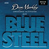 Dean Markley 2556 . 010 - .046 Blue Steel Electric Regular Guitar Strings