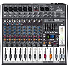 BEHRINGER XENYX X1222USB mixer professionale 16 ingressi effetti interfaccia audio usb - Modulo Di Controllo Staffa