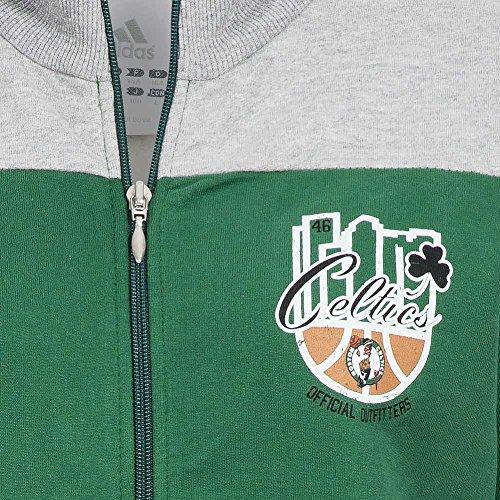 Boston Celtics adidas Kinder Basketball Trainingsanzug NBA B03380 Grün