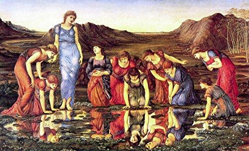 Das Museum Outlet-Jones-Der Spiegel der Venus-Leinwanddruck Online kaufen (76,2x 101,6cm)