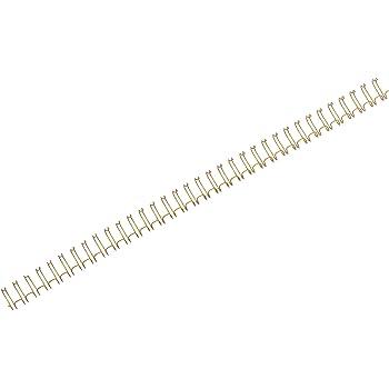 brilux 50 St/ück 3//4 Zoll r/&b 23RM190-BR Drahtbinder/ücken 23 Ringe 19 mm 2:1 Teilung