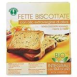 Probios Fette Biscottate Bio - Con Semi di Lino e Olio Extravergine di Oliva - [Confezione da 4 x 270 g]