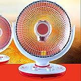 HONG Desktop-Kleiner Sun-Thermostat, Feiner Infrarotheizofen, Zweigeschwindigkeits-Knopf-Heizung, 220V Justierbarer Winkel-Elektrischer Heizung