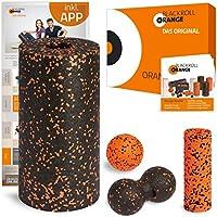 Preisvergleich für blackroll-orange ORANGE-Box Standard - Faszienrolle, Massageball, Duoball Twinball-Orange und Mini Massagerolle als Selbstmassage Set in der ORANGE-Box. Qualität Made in Germany.