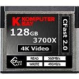 Komputerbay Professional 3700x 128GB CFast 2.0 Tarjeta (Hasta 560MB / s Lectura y hasta 495 MB / s Write)