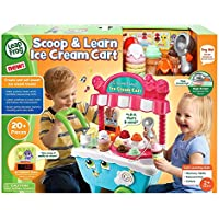 Scoop LeapFrog Cart 20 Playing Pieces And Learn Ice Cream