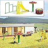 Busch 1163 Spielplatz Geräte H0