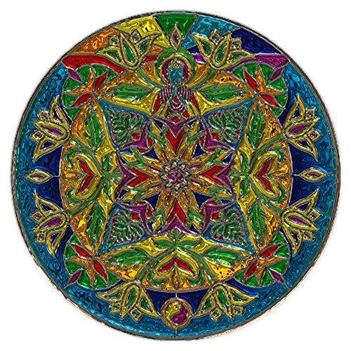 liphisfun 5d diy Diamond pintura Kit cuadrado resina Rhinestone bordado de punto de cruz artes para manualidades casa decoración de la pared mandala (30x 30cm), 04, 30x30cm