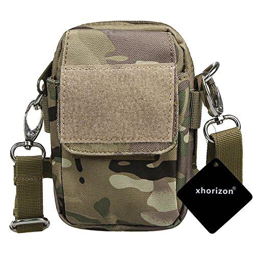 xhorizon TM taktischer Militaer-/ Nothilfe-/ medizinischer Sack (Molle), wasserdichte taktische EDC Tasche(Molle) (Huefte/ Gurt) #1