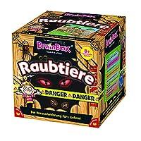 Unbekannt-BRAIN-BOX-94953-Raubtiere-Spiel Brain Box 94953 Raubtiere, Lernspiel, Quizspiel für Kinder ab 8 Jahren - Start -