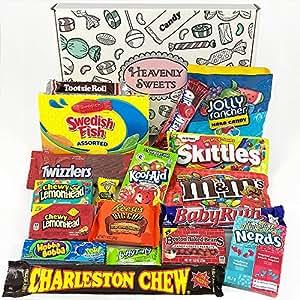american candy geschenkkorb retro s igkeiten und. Black Bedroom Furniture Sets. Home Design Ideas