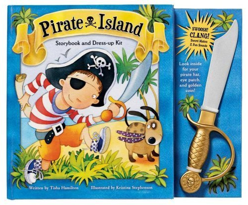 Pirate Island Storybook and Dress Up Kit (Storybook & Dress-Up Kit) by Tisha Hamilton (Pirate Kit Dress Up)