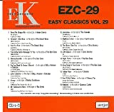 EZC-29 (Easy Classics Vol 29) on CDG disc - Part of the Easy Karaoke Classics range - Includes 18 tracks by The Beach Boys; The Bee Gees; Cat Stevens and many more - *ENLARGE IMAGE TO SEE FULL TRACKLISTING*