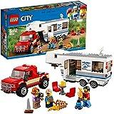 LEGO City Great Vehicles - Lego Camioneta y caravana (60182)
