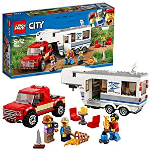 LEGO 60182 City Great Vehicles Pickup e Caravan (Ritirato dal Produttore) LEGO