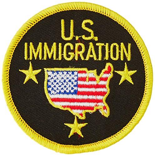 EagleEmblems pm4002Patch-Pol, US, Einwanderung (7,6cm)
