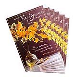Dayspring Religious Thanksgiving Card Assortment (6 Cards, 6 envelopes Thanksgiving Blessings)