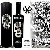 lujo Vodka cráneo skull iordanov Wodka design set de regalo hombres cristal reluciente