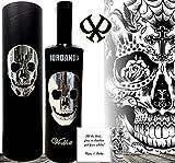 Luxe Vodka giftset cadeau Iordanov crâne noir mort cristal svarowski hommes femmes designer Head cadeau de luxe| russian crystal