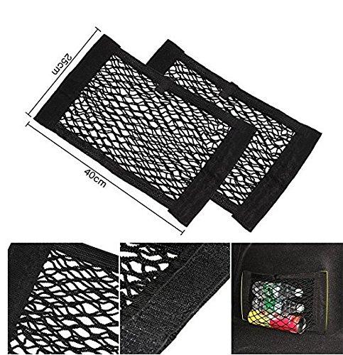 Auto Boot Netz Magie Aufkleber Gepäck Mesh - Organisator Koffer, Tasche Tasche Double Layer Tasche | zwei pcs