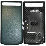 Blackberry 10251 PD Leder Batterie Door Tasche P`9982 June Bug grün